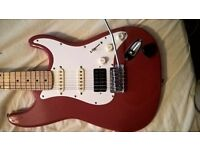 squier Korean early strat £150 cash low action professional set up