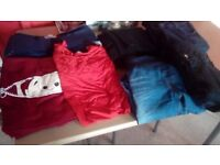 Maternity jeans and tshirts sizes 14-18