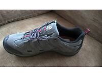 Mens Walking Shoes - Karrimor Border Charcoal, size 14 (49). COLLECTION ONLY.