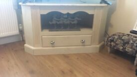 Cream Corner tv unit / stand