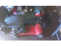 Leo red 4mph mobility scooter