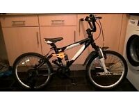 kids carrera detonate full suspension mountain bike