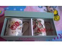 Cath Kidston set of mugs
