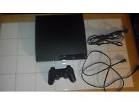 PlayStation 3 120gb with 2 games