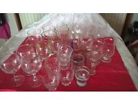 collection of glasses