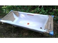 1700 Pool Comfort Bath Nth Wht L1700 W700 H345