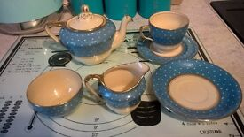 1930s sunbuff tea set for one