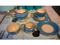 1930s sunbuff tea set for one