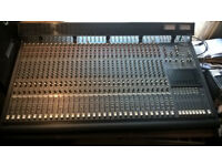Mackie 32 Channel 8 Bus Analog Mixing Desk, Meter Bridge and Power Supply
