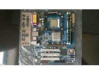 Asrock p4i65g agp sata 6x usb 2.0 motherboard + 2gb ddr400 and pentium sl66q good clean condition