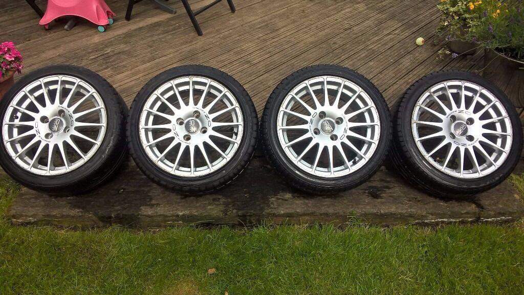 4x108 16 Quot Oz Superturismo Multispoke Wheels Ford Focus