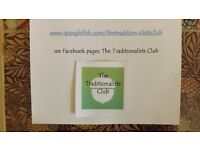 The Traditionalists Club membership. Open to all lovers of vintage British life.