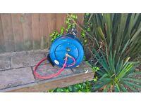 15m Retractable air hose reel