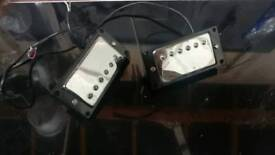 2 pair of wax potted humbuckers