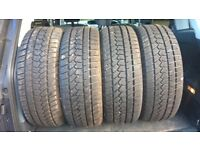 4 winter tyres for Mazda 6 - great condition