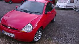 ford ka 2007 62000 miles, needs atension bargain