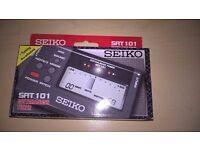 Seiko Sat 101 Guitar & Bass Tuner