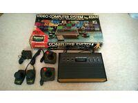 Atari CX-2600 woody 6 switches in box