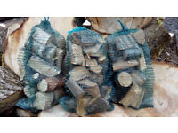 BBQ Wood Chunks for outdoor grills, BBQs, smokers (smoking/firewood) oak, cherry or silver birch
