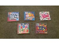 Pop compilation cds