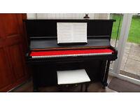 Black upright piano FREE DELIVERY!!