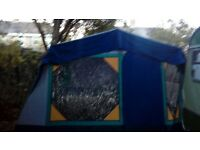 Cabanon tent with 2 sleeping compartments. Lovely condition. Used once. Still smells new.