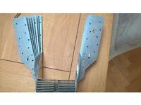 7 x Joist Hangers 100mm