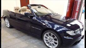 Convertible BMW E46 325ci