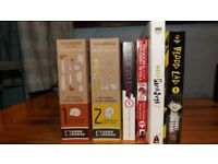 Manga Collection - 4 Books and 2 ominibus books