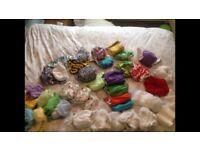 Real nappy de stash- tots bots, mios, peenuts, & more