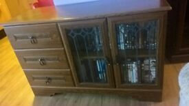 tv cabinet with 3 drawers