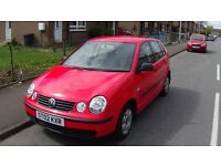 VW POLO 1.2 2002 RED