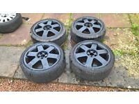 17s audi tt ronal alloy wheels 5x100