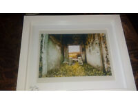 """8x10"""" 'The Reef' Isle of Tiree Framed Print by Allanah Kyle (Original Artist)"""