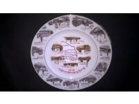Commemorative Plate, circa 1985 - South Notts Collieries