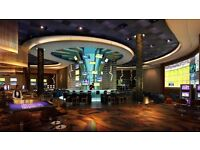 **WANTED** EXPERIENCED COCKTAIL BAR TENDERS, AT VICTORIA GATE CASINO