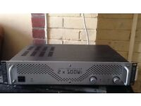 Power amp 100w for PA system