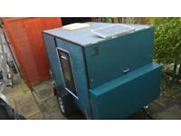 EXPEDITION TWO BERTH TRAILER. £1250 Ono