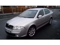 Skoda octavia tdi vrs jan 07 (56 plate) full history 170 bhp and very sporty but economical