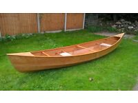 Canadian Waterman Canoe Brand New . 2 seater will carry 3 adults plus luggage .