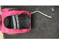 Doggy Bike Trailer Medium Solvit Houndabout used twice great condition