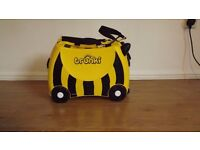 Children's Trunki travel suitcase, bee design