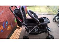 almost new double buggy safety 1st bargain!!!!!! only 80 pound