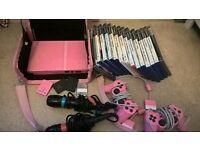 PS2 Slimline in Pink bundle