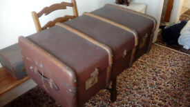 very old suitcase
