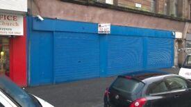 Shop to Let on busy Westmuir Street in parkhead forg area Glasgow - Available Now