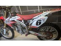 honda crf 450 2006