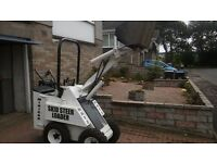 Skid Steer Loader and Ifor Williams Trailer