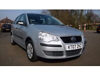 2007 Volkswagen POLO 1.2**69K Warranted Miles**2 Owners**Full S History**2 Keys**Low Tax&Insurance