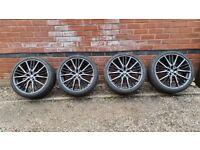 "Genuine BMW 19"" M Sport Alloy Wheels 1 Series 8092356 F40 F44 552"